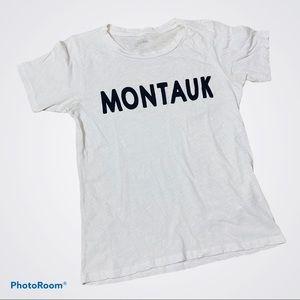 J Crew Montauk White T Size Medium